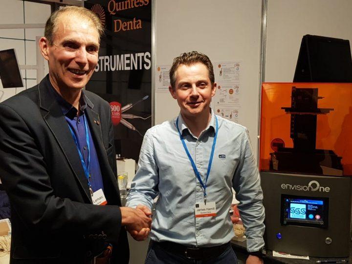 Irish Dental Equipment Supplier Signs as EnvisionTEC's Latest Distribution Partner.